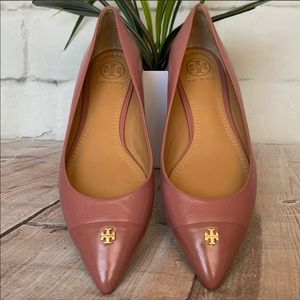 Tory Burch Fairford Flats in Pink Magnolia